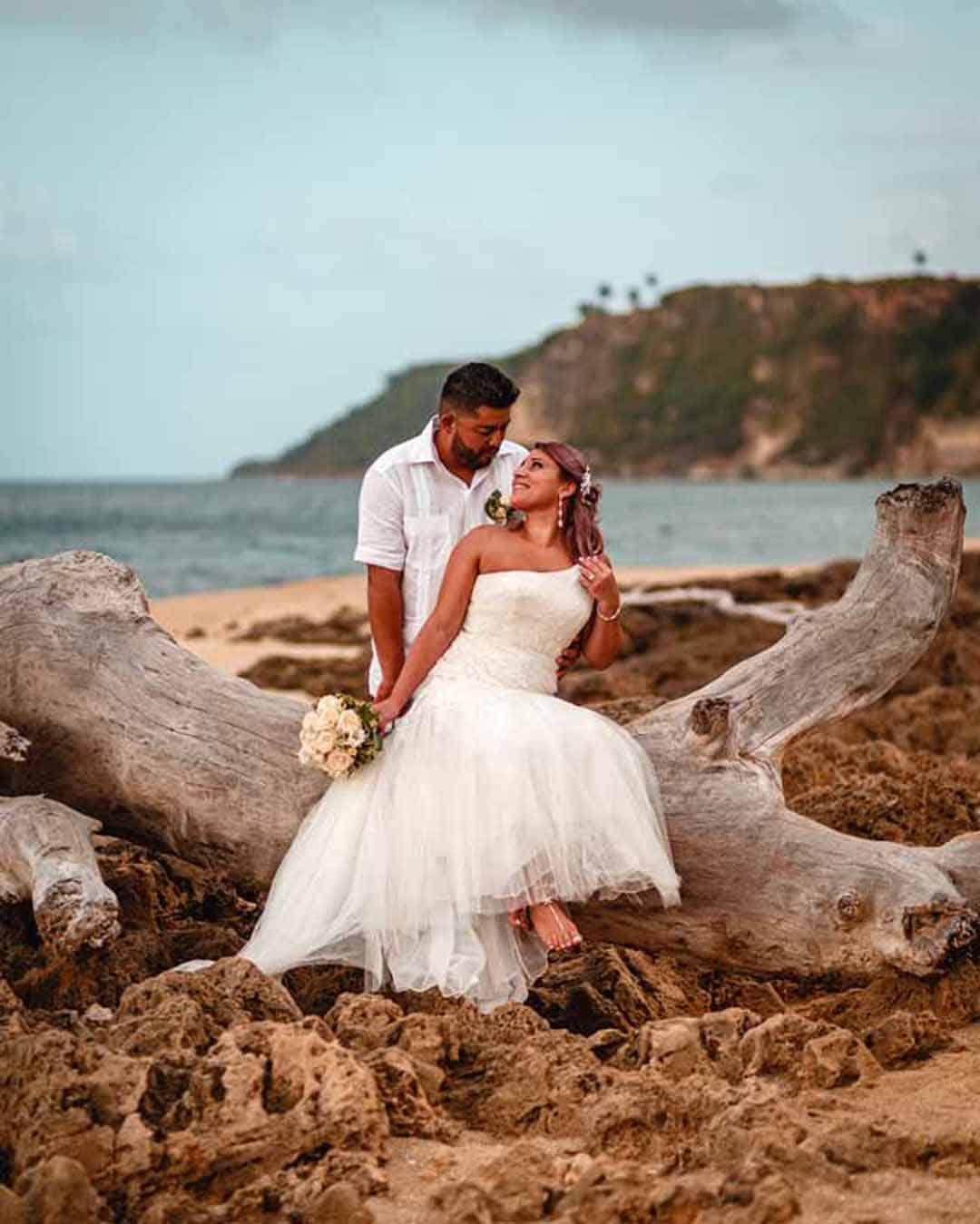 wedding ceremony in Puerto Rico
